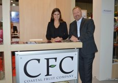 Anissa Paschereit and Walter Giesbrecht with Coast Fruit Company fruit British Columbia.