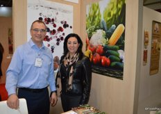 Patrick Bedard and Nancy Goudreau of Canneberges Quebec, grower and marketer of cranberries.