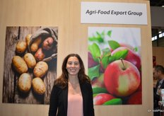 Vicky Couture-Adams representing Agri-Food Export Group in Quebec, Canada.