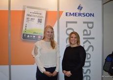 Katrine Andreasen and Rachel Beckler with Emerson