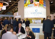 Overview of the Capespan booth