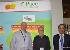 Representing Pace International are Timothy Clarke, Robert Fassel and Rodgrigo Cifuentes.