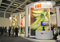 Booth of Compagnie Fruitiere