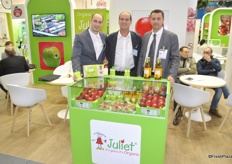 Damien Marcellin, Pascal Corbel and Jean-Noël Carles from Cardell Export