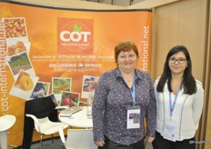 Marie-Laure Élève and Lisa Herrero from COT International