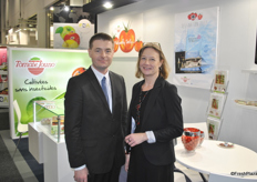 Olivier Lebas and Sylvie Hochart from Tomate Jouno