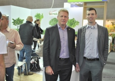 Oron Ziv and Saar Ziv at the Befresh Europe stand