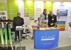 Thierry Koch and Giora Giladi from Aqua4D