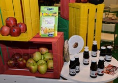 Some of the products showcased at the APOT stand.