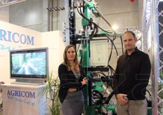 Francesca Coppo (foreign sales manager) and Gino Marigonda (owner) represented Agri.com Service Codalonga Sas. The company sells equipment and machinery for plant care.