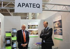 Rolf Walterscheid-Muller (sales consultant) and Martin Dirk (chief sales officier) from Apateq Group, specialising in water treatment.