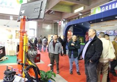 BMV di Borio Valerio & c. stand. Machinery and equipment for plant care.