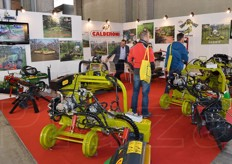 Calderoni specialises in equipment and machinery for soil preparation and tillage and shredders.