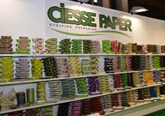 The variety of Ciesse cardboard packaging.
