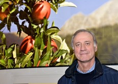 Domenico Sacchetto, chairman of the Consortium for the safeguard and promotion of PGI Cuneo Red Apples.
