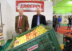 Guido De Luca and Brian Ollier from Errepi srl (equipment and machinery, tractors and means of transport).