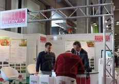 Eurovix spa showcased its range of bioactivators obtained with selected mixes of enzimes and micro-organisms for the treatment of organic substances, water and soil.