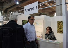 Futurpera is the first international event dedicated to pears. Three days (November 19-21, 2014) to meet the exhibitors and take part in conferences and conventions.