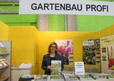 A. Pelka at the Gartenau Profi stand.