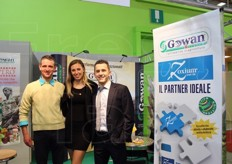 Cappello Silvano (Bolzano-Trento-Sondrio agent), Marisa Malfertheiner and Luca Sangiorgi (communication specialist) from Gowan Italia spa.