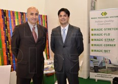 Roberto Graziani and Marco Garavini at the Graziani Packaging stand.