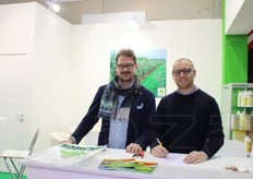 Lorenzo Vecchietti and Francesco Di Pietro from Hydro Fert srl.