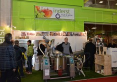 Inderst presented a few fruit processing machinery.