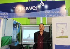 Marnix Van Praet from Ino Power. Anti-hail system.
