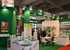 L. Gobbi stand - crop control products, fertilisers, organic cultivation solutions, nursery garden material.