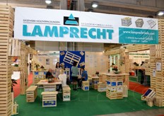 Lamprecht packaging materials.