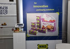 NNZ developed a unique packaging for apples in collaboration with Schut Systems and Pillopak. It is a wavy cardboard tray divided into three or four compartments. Each compartment can hold a single apple so that it can fully protected. There is also a wide printable area ideal for marketing purposes.