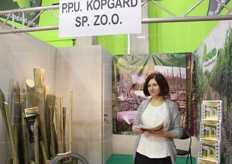 Agnieska Szoltysik from PPV Kopgard SP z.o.o. Prefabricated solutions to build plants.