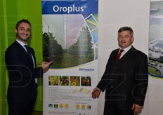 Luca Marinucci and Massimo Bizzarri presented Oroplus film solutions from Plastik.