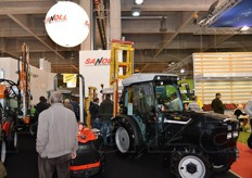 Sanli tractors and machinery.