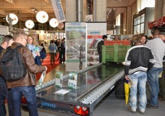 Schwarz presented its integrated container transport system.