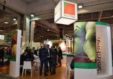 Agrofresh stand. The company developed the SmartFresh conservation system, which uses 1-Methylcyclopropene (1-MCP), a ethylene inhibitor.