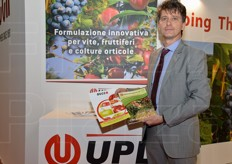 Andrea Bergamaschi, R&D manager for UPL.