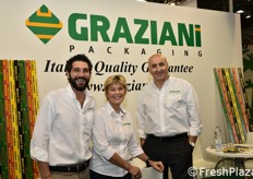 Smiling faces at the Graziani stand!