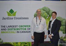 Martin Cousineau of Jardins Cousineau and Jean- Emmanuel Poitras of Agri-Food Export Group.