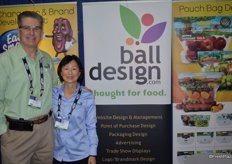 John and Debbie Ball with Ball Design.