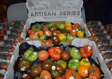 Heirloom tomatoes from Red Sun Farms' Artisan series.