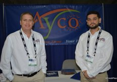 Jason Miller and Jorge Bastidas with Ayco Farms.