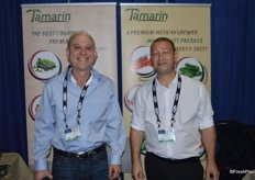 Eldar Blecher and Eliran Rosen With Tamarin, a Mexican produce grower.