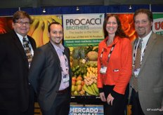 Michael Maxwell, Frank Paone, Lori Fischer and Ken White of Procacci Brothers.
