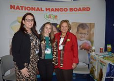The National Mango Board represented by Rachel Munoz, Jami Kinney and Cece Krumrine.
