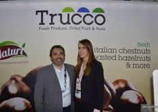Nick Pacia and Sasha LoPresti with Trucco Direct.