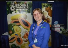 Mary Ostlund with Brooks Tropicals.