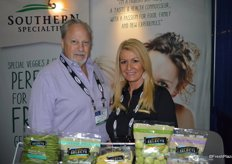 Charlie Eagle and Tracey Monahan with Southern Specialties.