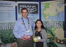 Scott Canneto and Lauren Del Rosario with Frank Donio, Inc.