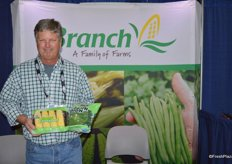 David Basore with Grower's Management, a grower for Branch Family of Farms.